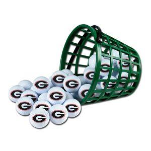 McArthur Sports Georgia Bulldogs Golf Ball Bucket (36 Balls)