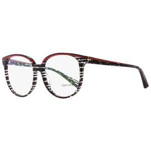 Alain Mikli Oval Eyeglasses A03050 E009 Black/Red/Crystal 55mm 3050