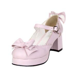 milanoo.com Bows Decor Lolita Shoes