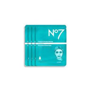 NO7 Protect & Perfect Intense Advanced Serum Boost Sheet Mask (4 Pack)
