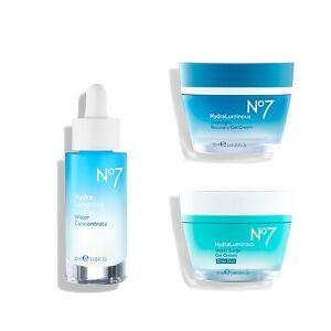 NO7 HydraLuminous Hydrating Regimen ($53.97 Value)