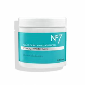 NO7 Protect & Perfect Intense Advanced Serum Activating Pads (60 Pack)