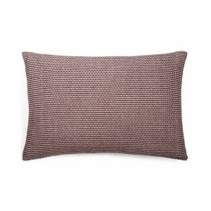 "Calvin Klein Woven Diamond 14"" X 20"" Decorative Pillow - Brick"