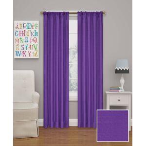 "Eclipse Kendall Blackout Window 42"" x 54"" Curtain Panel - Purple"