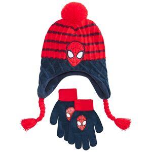 Spider-Man Big Boys 2-Pc. Heidi Hat & Gloves Set - Blue