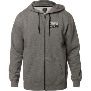 Fox Men's Pro Circuit Logo Graphic Fleece Hoodie - Heather Graphite