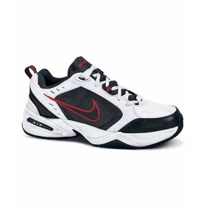 Nike Men's Air Monarch Iv Sneakers from Finish Line - White/Black-Varsity Red