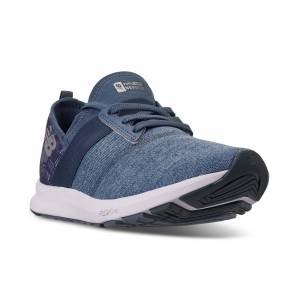 New Balance Women's FuelCore Nergize Mule Floral Walking Sneakers from Finish Line - CHAMBRAY/LYNX BLUE