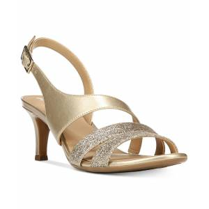 Naturalizer Taimi Dress Sandals - Gold