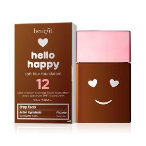 Benefit Cosmetics Hello Happy Soft Blur Foundation - Shade  - dark warm
