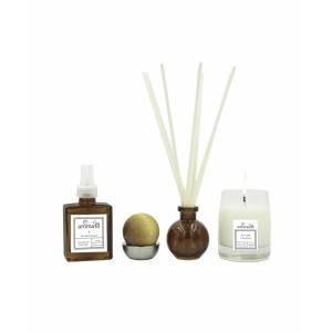 aroma43 Sea Salt Caramel 4-Piece Luxury Fragrance Set - Multi