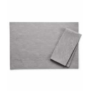 "Bardwil Continental Collection 19"" X 19"" Gray Napkin - Grey"
