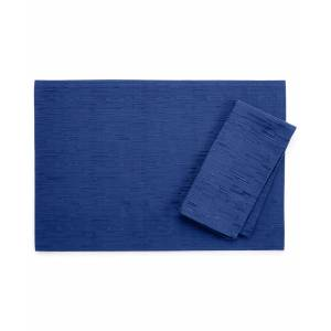 "Bardwil Continental Collection 19"" X 19"" Navy Napkin - Navy"