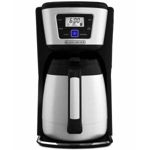 Black & Decker CM2035B 12-Cup Programmable Thermal Coffeemaker - Black