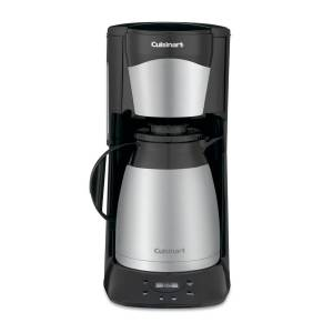 Cuisinart Dtc-975BKN Programmable Thermal Coffeemaker, 12-Cup - Black/stainless