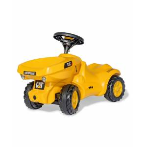 Rolly Toys Foot to Floor Cat Baby Dumper - Yellow