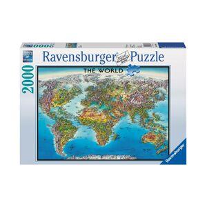 Ravensburger World Map - 2000 Piece