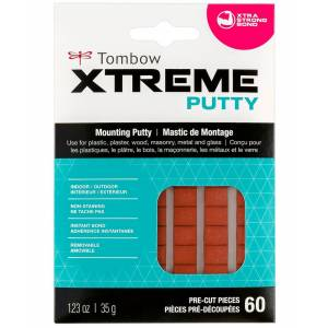 Tombow Xtreme Mounting Putty, 60-Pieces