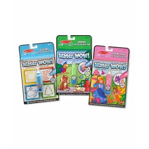 Melissa and Doug Water Wow Bundle - Colors Shapes, Fairy Tales and Animals