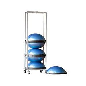 Power Systems Small Storage Rack for BOSU PRO Rack with 6 BOSU Pros