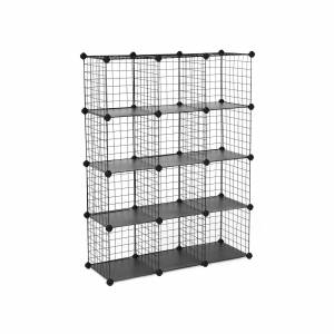 Cube Metal Wire Storage Cube