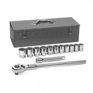 GearWrench Mechanics Tool Set 13 pc. 3/4 In. Drive 12 Point SAE