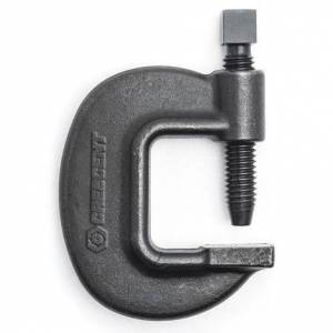 Crescent C-Clamp, Heavy Duty Pattern, 6-5/8 In.