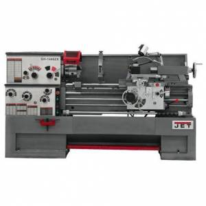 Jet 3-1/8 In. Spindle Bore Geared Head Lathe