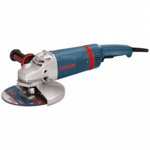 Bosch 9 In. 15 A Large Angle Grinder with Rat Tail Handle