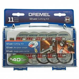 Dremel 11 pc. EZ Lock™ Cutting Kit