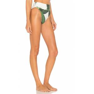 BEACH RIOT x REVOLVE Highway Bikini Bottom in Green. - size L (also in M,S,XS)
