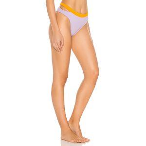 L*SPACE Zac High Waist Bikini Bottom in Lavender. - size XS (also in S)