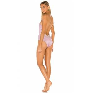 Oseree Malliot One Piece in Lavender. - size S (also in L)