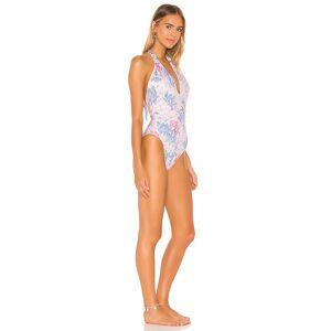 LoveShackFancy Abelia Swimsuit in Pink. - size XS (also in L, M, S)