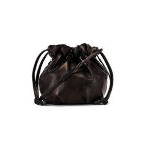 Clare V. Italian Nappa Emma Bag in Black.