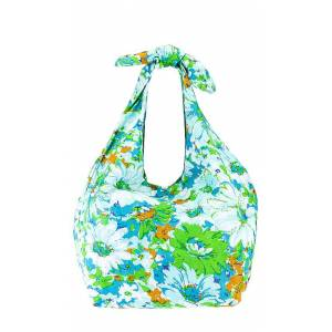 FAITHFULL THE BRAND Hanna Tote Bag in Green.