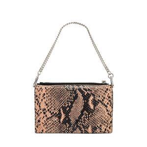 ALLSAINTS Fetch Chain Crossbody Bag in Blush.