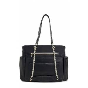 BEIS The Diaper Bag in Black.