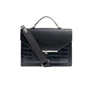 BEIS The Messenger Bag in Black.