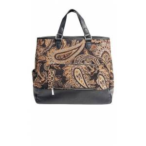 BEIS The Mini Tote in Brown.