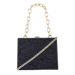 olga berg Emily Acrylic Bag in Black.