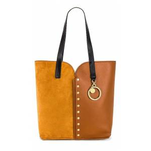 See By Chloe Gaia Large Carry All Tote in Brown.