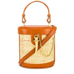 Sancia The Camillo Bucket Bag in Tan.