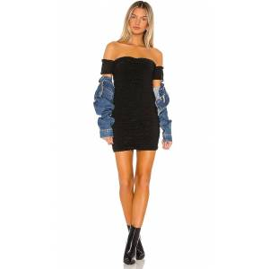 h:ours Charlie Off Shoulder in Black. - size XS (also in L,M,S,XL,XXS)
