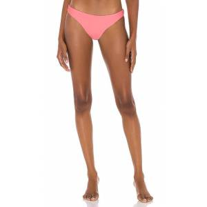 PQ Basic Ruched Bikini Bottom in Pink. - size S (also in L,M)