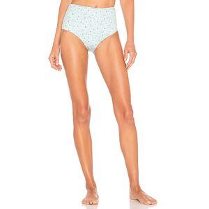 LoveShackFancy Maison Bikini Briefs in Blue. - size XS (also in S)