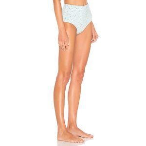 LoveShackFancy Maison Bikini Briefs in Blue. - size S (also in XS)