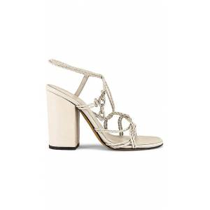 ALUMNAE Mignon Twist Sandal in Gray. - size 37 (also in 36,36.5,37.5,38,39)