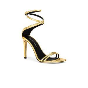 Giuseppe Zanotti Basic 105 Stiletto in Metallic Gold. - size 37 (also in 38,39)