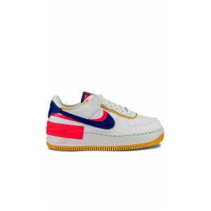 Nike AF1 Shadow Sneaker in White,Blue. - size 6 (also in 8.5,9,9.5,10)